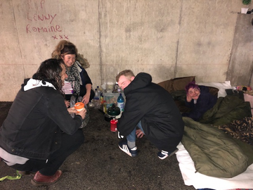 Guildford rough sleepers