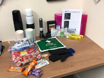Rough sleeper outreach kit
