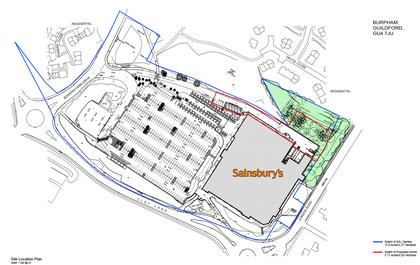 Burpham Sainsburys Loading Bay Application