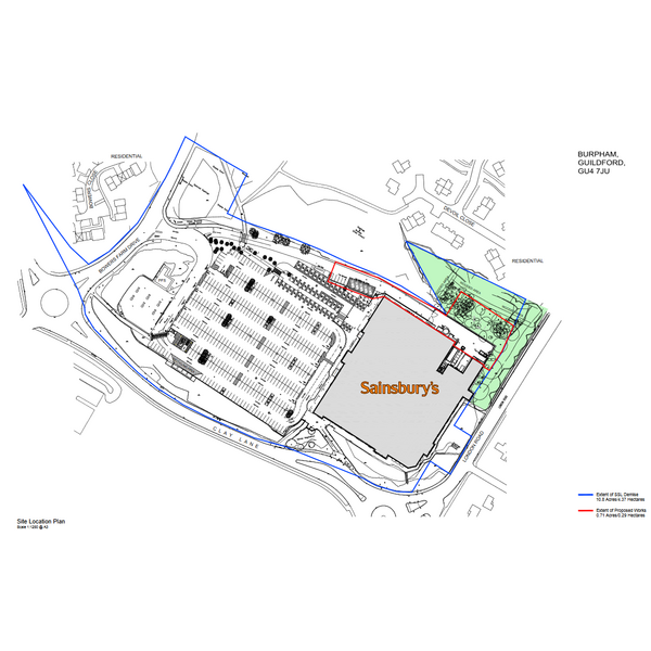 Burpham Sainsburys Loading Bay Application