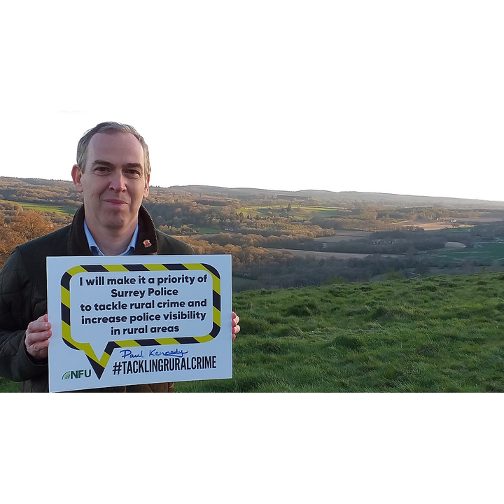 Paul Kennedy NFU pledge